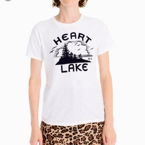 J. Crew Tops - J. Crew Heart Lake Tee Size Large NWT